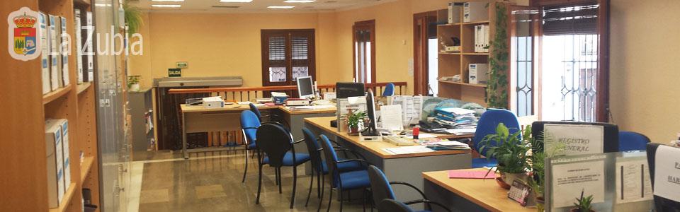 Oficinas del Ayuntamiento de La Zubia