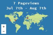 Provenienza dei visitatori del sito!