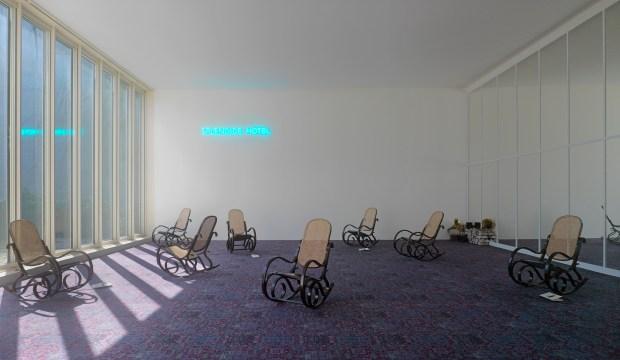 Hotel Splendide: Installationsansicht im K20, © ADAGP, Paris 2016 / VG Bild-Kunst, Bonn 2016 Foto: © Achim Kukulies © Kunstsammlung NRW