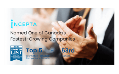 Incepta Named One of Canada's Fastest-Growing Companies