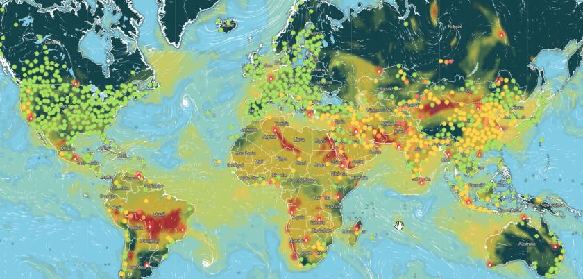 qualità dell'aria globale