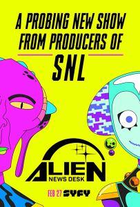 Alien News Desk – Season 1