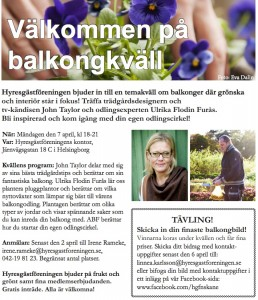Helsingborg 7 april