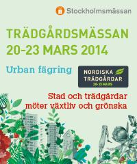Banner Trädgård 2014