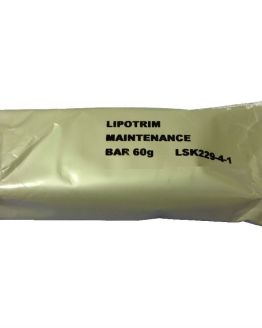 Lipotrim caramel flavoured maintenance bar