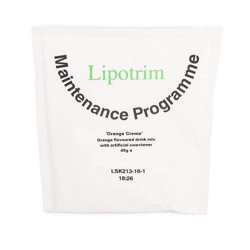 Lipotrim Orange creme - Lipotrim maintenance programme
