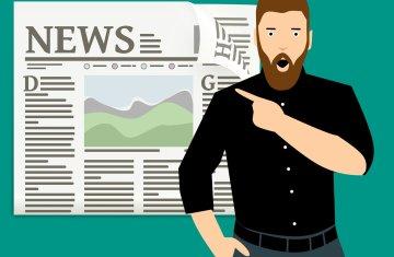 Newspaper - new covid-19 lockdown rules