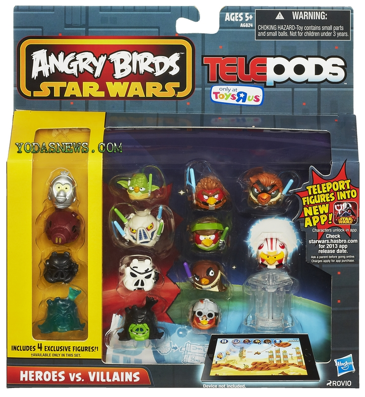 Telepods Rebels Birds Wars Star 2 Angry