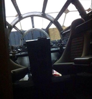 star wars episode VII spoiler alert millenium falcon spaceship
