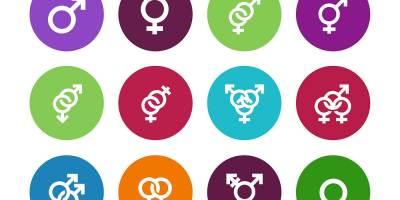An image of different gender symbols