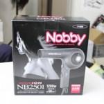 【アウトレット祭り】Nobbyマイナスイオン付 NB2501 BK