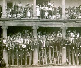 El actual Parador albergó un teatro, un cuartel y hasta fue plaza de toros.