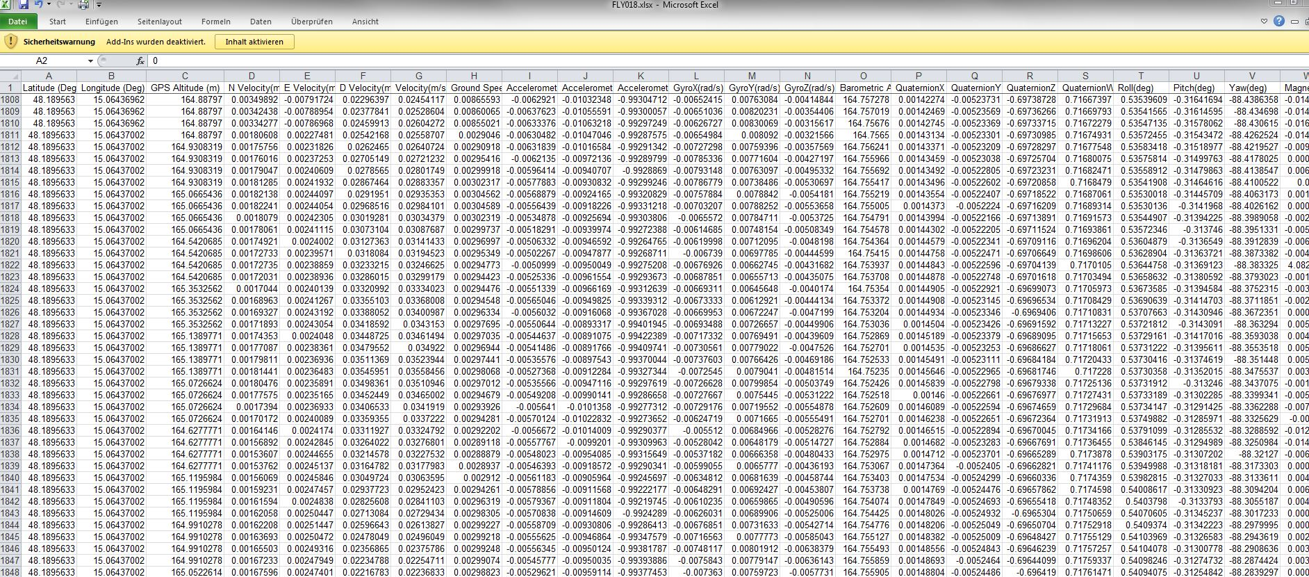 Can You Get Latitude And Longitude From The Log Files