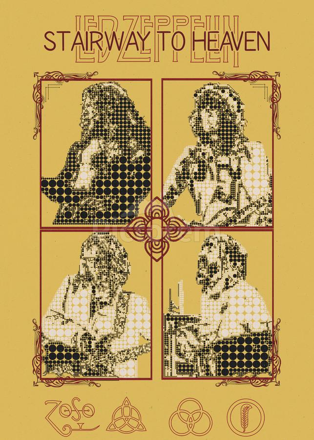 Stairway To Heaven Led Zeppelin Robert Plant Jimmy Page John Paul Jones John Bonham Gunawan Rb