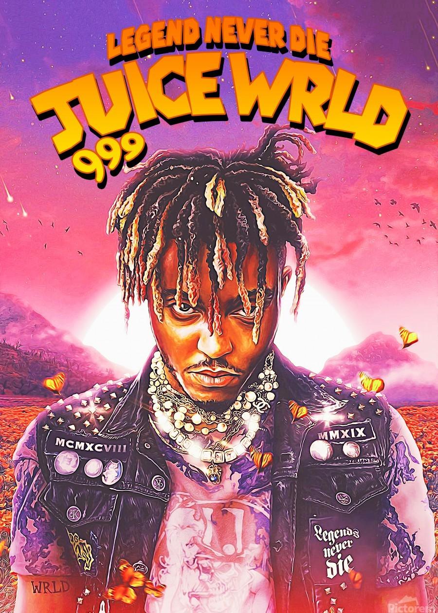 juice wrld pop art 999