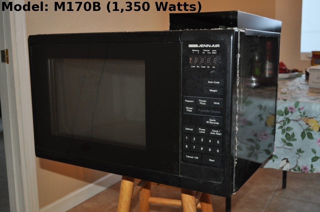 recommended repair or magnetron replacement of broken microwave jenn air m170b