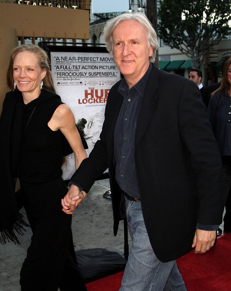 "James Cameron Actress Suzy Amis (L) and director James Cameron attend ""The Hurt Locker"" film premiere at the Egyptian Theatre on June 5, 2009 in Hollywood, California.  (Photo by Frederick M. Brown/Getty Images) *** Local Caption *** Suzy Amis;James Cameron"