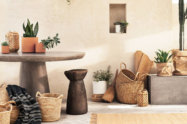 Basket Love   H M Is Stepping Up Its Home Decor Game   Lonny Basket Love