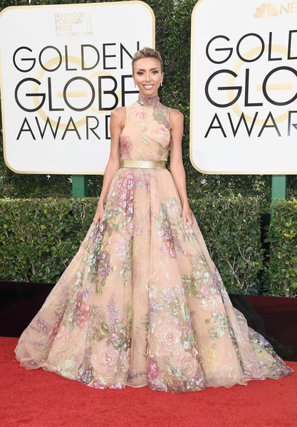 Giuliana Rancic in Rani Zakhem and Forevermark Diamonds