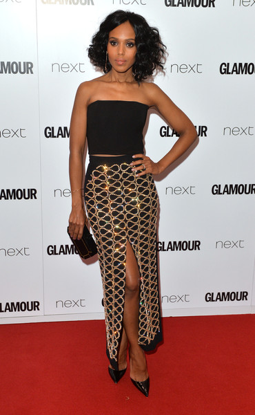 Kerry Washington in David Koma London
