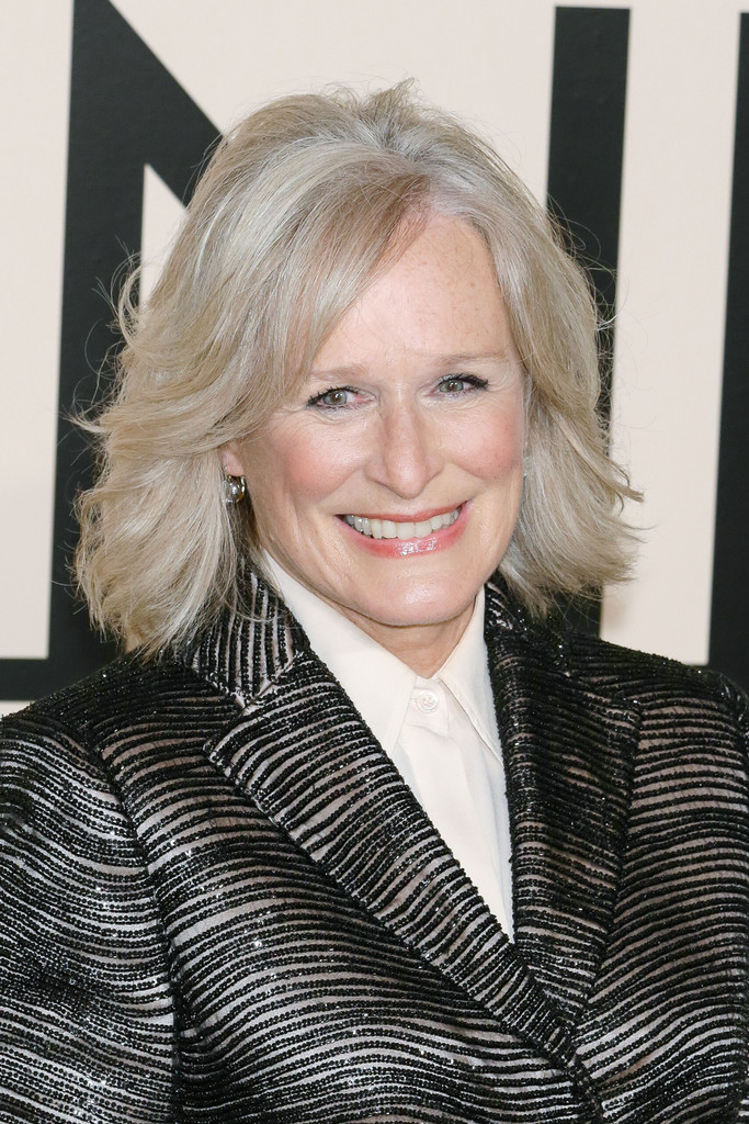 Glenn Close Mid Length Bob Glenn Close Looks StyleBistro
