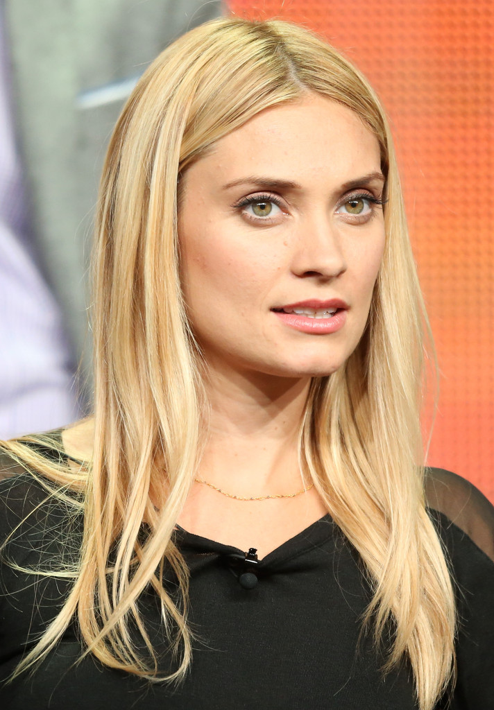 Spencer Grammer Long Straight Cut Long Straight Cut