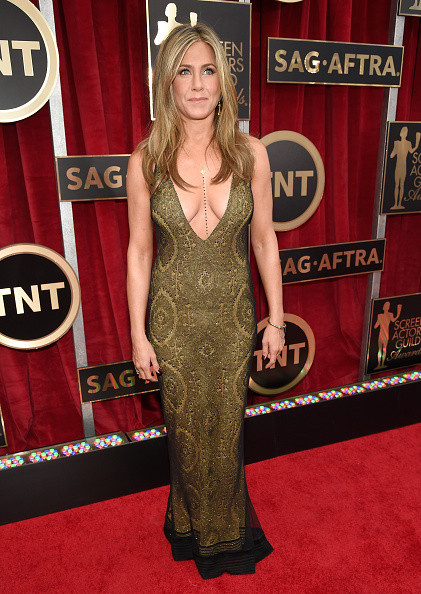 Jennifer Aniston in Vintage Galliano