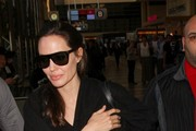 Angelina Jolie seen at LAX.