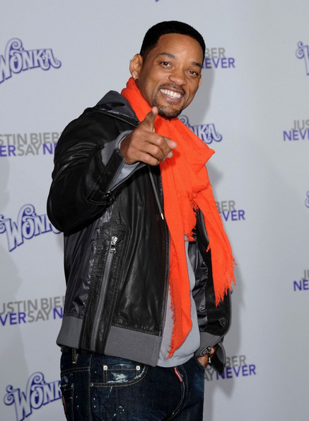 """Will Smith Los Angeles Premiere of """"Justin Bieber: Never Say Never"""". Nokia"""