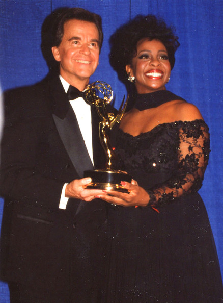 FILE PHOTOS: Dick Clark and Gladys Knight at the Daytime Emmys in New York City, New York in 1994. Dick Clark passed away on April 18 2012 at the age of 82.
