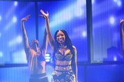 Rapper Nicki Minaj performs onstage during the 2014 iHeartRadio Music Festival at the MGM Grand Garden Arena on September 19, 2014 in Las Vegas, Nevada.