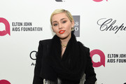 Singer Miley Cyrus attends the 23rd Annual Elton John AIDS Foundation Academy Awards Viewing Party on February 22, 2015 in Los Angeles, California.