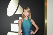 Recording Artist Taylor Swift attends The 57th Annual GRAMMY Awards at the STAPLES Center on February 8, 2015 in Los Angeles, California.