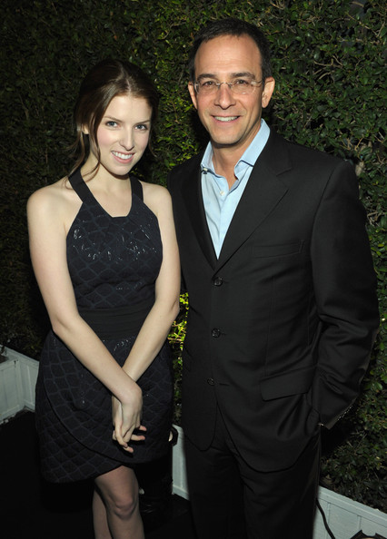 Anna Kendrick Actress Anna Kendrick (wearing IN ADD MINUS) and CAA's Rick Hess attend the IN ADD MINUS flagship store launch on November 18, 2010 in Los Angeles, California.