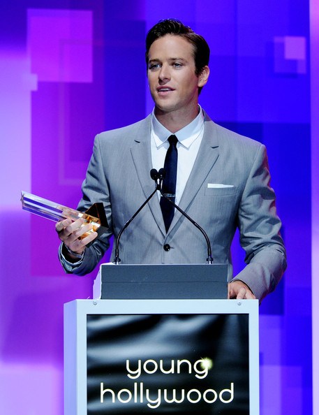 Armie Hammer - 13th Annual Young Hollywood Awards - Show