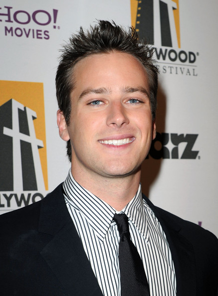 Armie Hammer - 14th Annual Hollywood Awards Gala - Red Carpet
