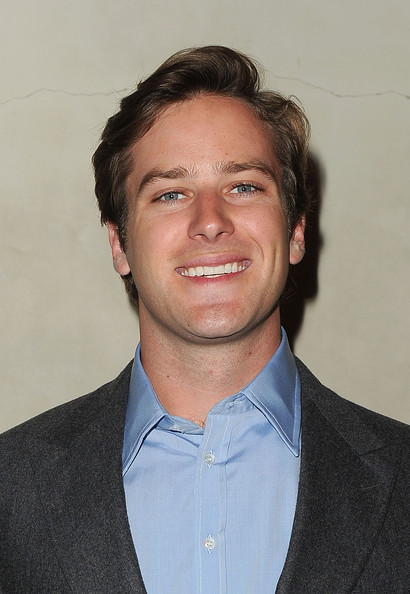 Armie Hammer - Stars at the Vanity Fair Private Dinner In LA