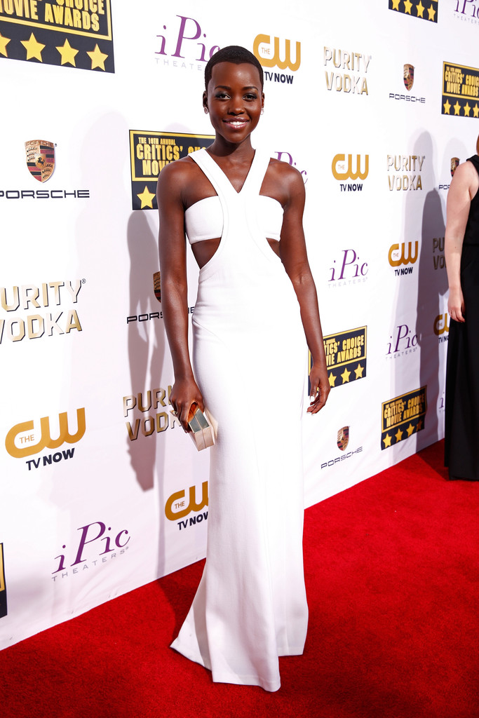 lupita nyongo'o critics choice awards 2014