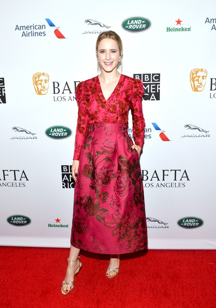 Image result for bafta la tv tea rachel brosnahan