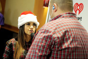 Recording artist Becky G (L) and radio personality Big D attend101.3 KDWB's Jingle Ball 2014 presented by Sky Zone Indoor Trampoline Park and Allstate at Xcel Energy Center on December 8, 2014 in St Paul, Minnesota.