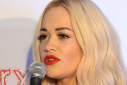 Singer Rita Ora interviews backstage at the Q102's Jingle Ball 2014 at Wells Fargo Center on December 10, 2014 in Philadelphia, Pennsylvania.