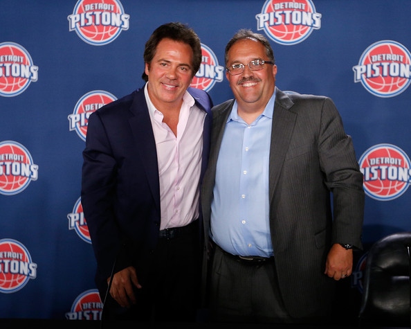 Image result for pistons introduce stan van gundy