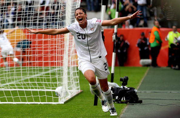 Abby+Wambach in France v USA: FIFA Women's World Cup 2011 - Semi Final
