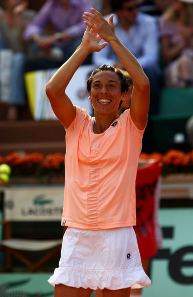 Francesca Schiavone - 2011 French Open - Day Eight