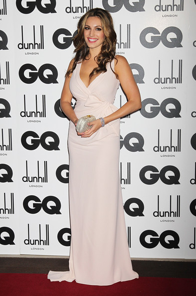 Model Kelly Brook attends the GQ Men Of The Year Awards at The Royal Opera House on September 6, 2011 in London, England.