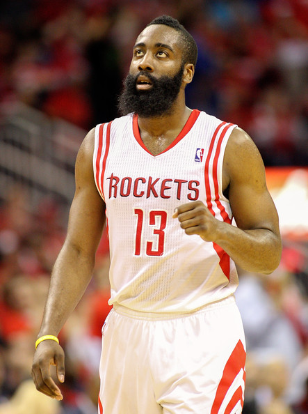 James Harden - Oklahoma City Thunder v Houston Rockets