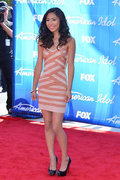 "Jessica Sanchez - Fox's ""American Idol 2012"" Finale - Results Show - Arrivals"