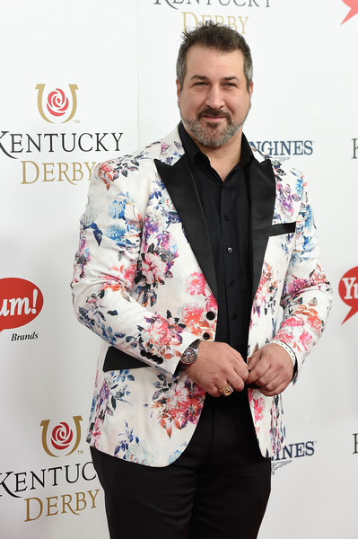 Image result for joey fatone kentucky derby 2018