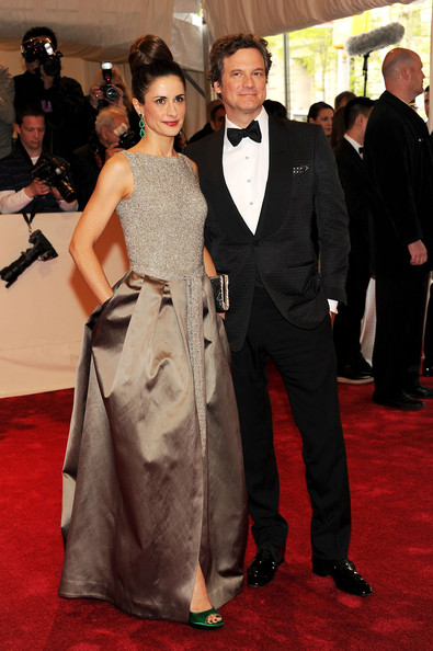 """Livia Giuggioli Livia Giuggioli and actor Colin Firth attend the """"Alexander McQueen: Savage Beauty"""" Costume Institute Gala at The Metropolitan Museum of Art on May 2, 2011 in New York City."""