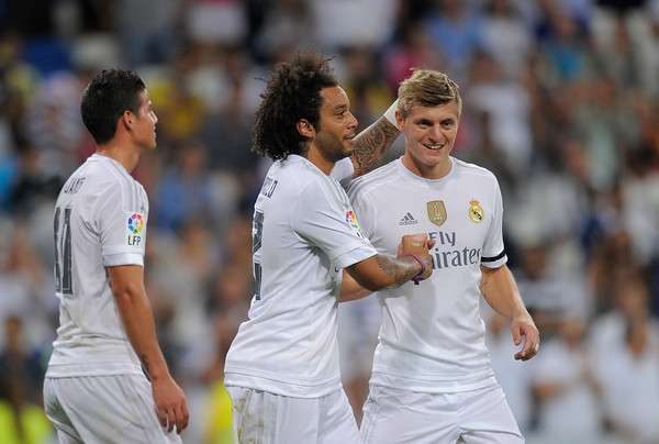 Image result for Picture of toni kroos and marcelo